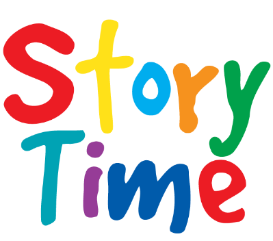Story time png. Saturday storytime the book