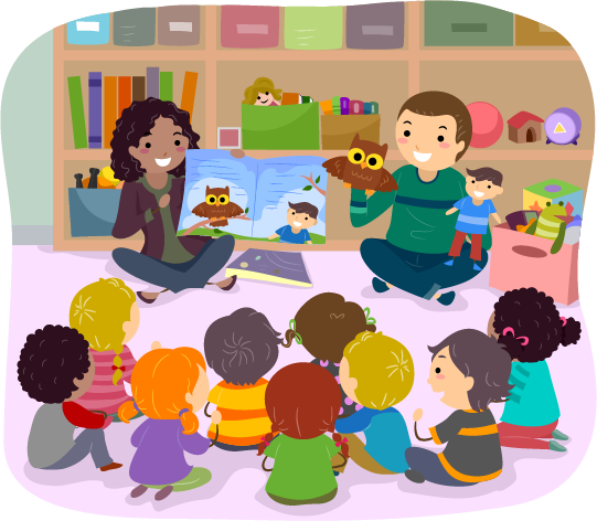 Storytime clipart february. Baby toddler story time