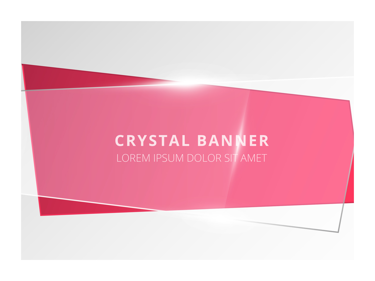Straight banner png. How to create a