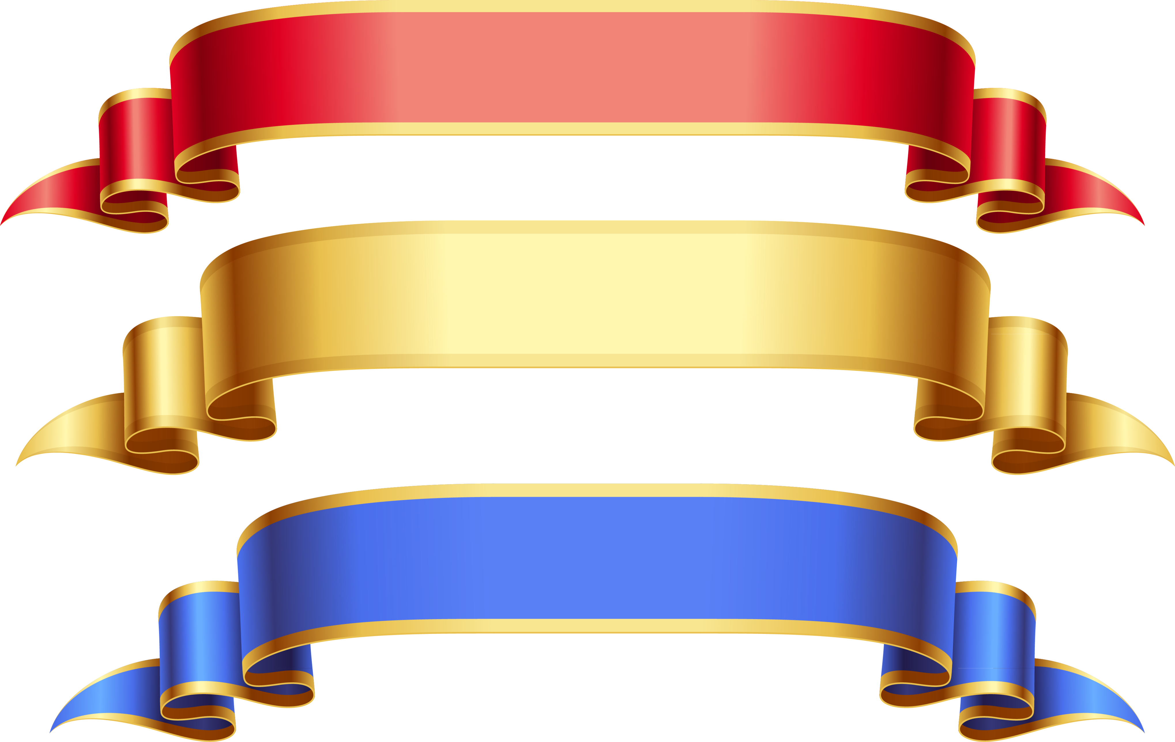 Straight ribbon banner png. Free clipart pretty inspiration