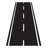 Straight road png. Image