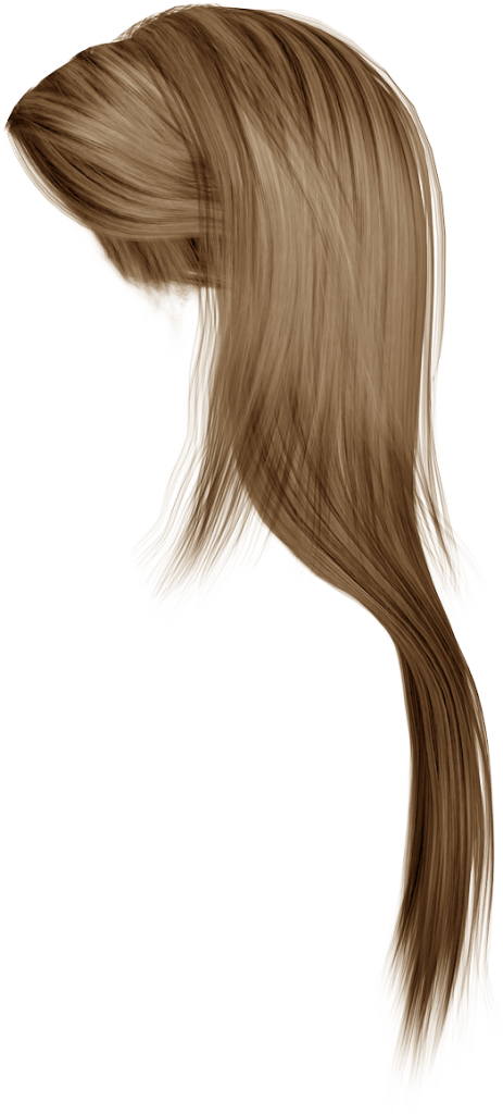 Strands of hair png. Wig blond long transparent