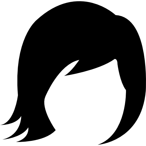 Strands of hair png. Icon page svg