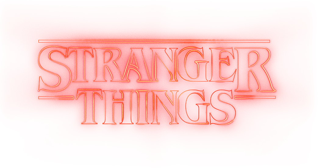 stranger things logo png