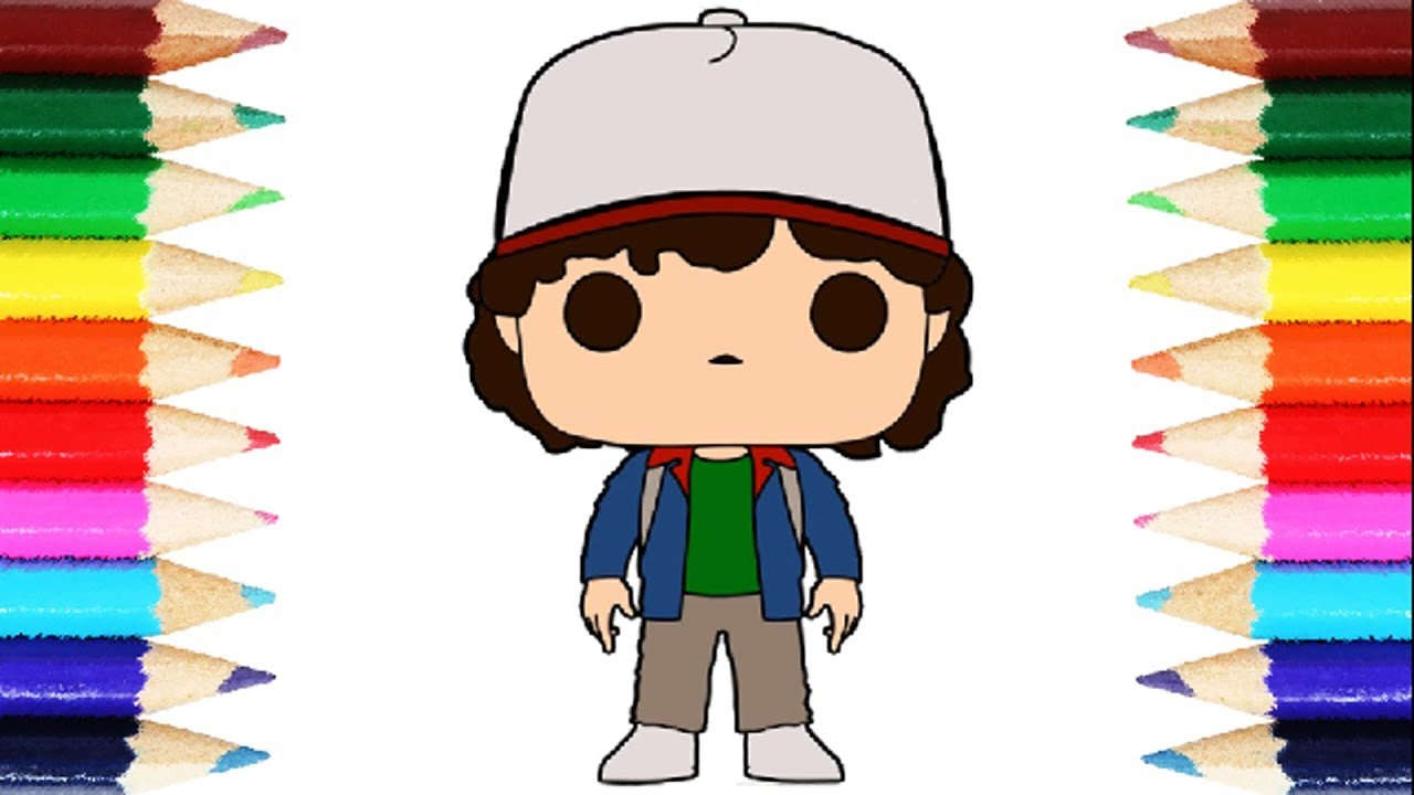 Stranger things clipart dustin. Informative coloring pages dus