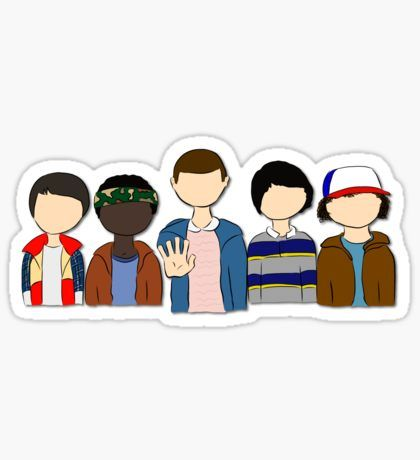 Stranger things clipart watercolor. Dise os del momento