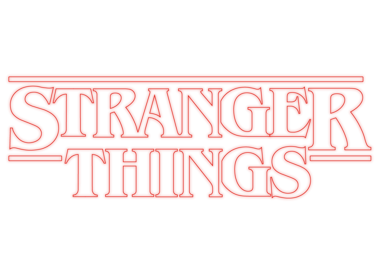 Stranger things logo png. What is a background