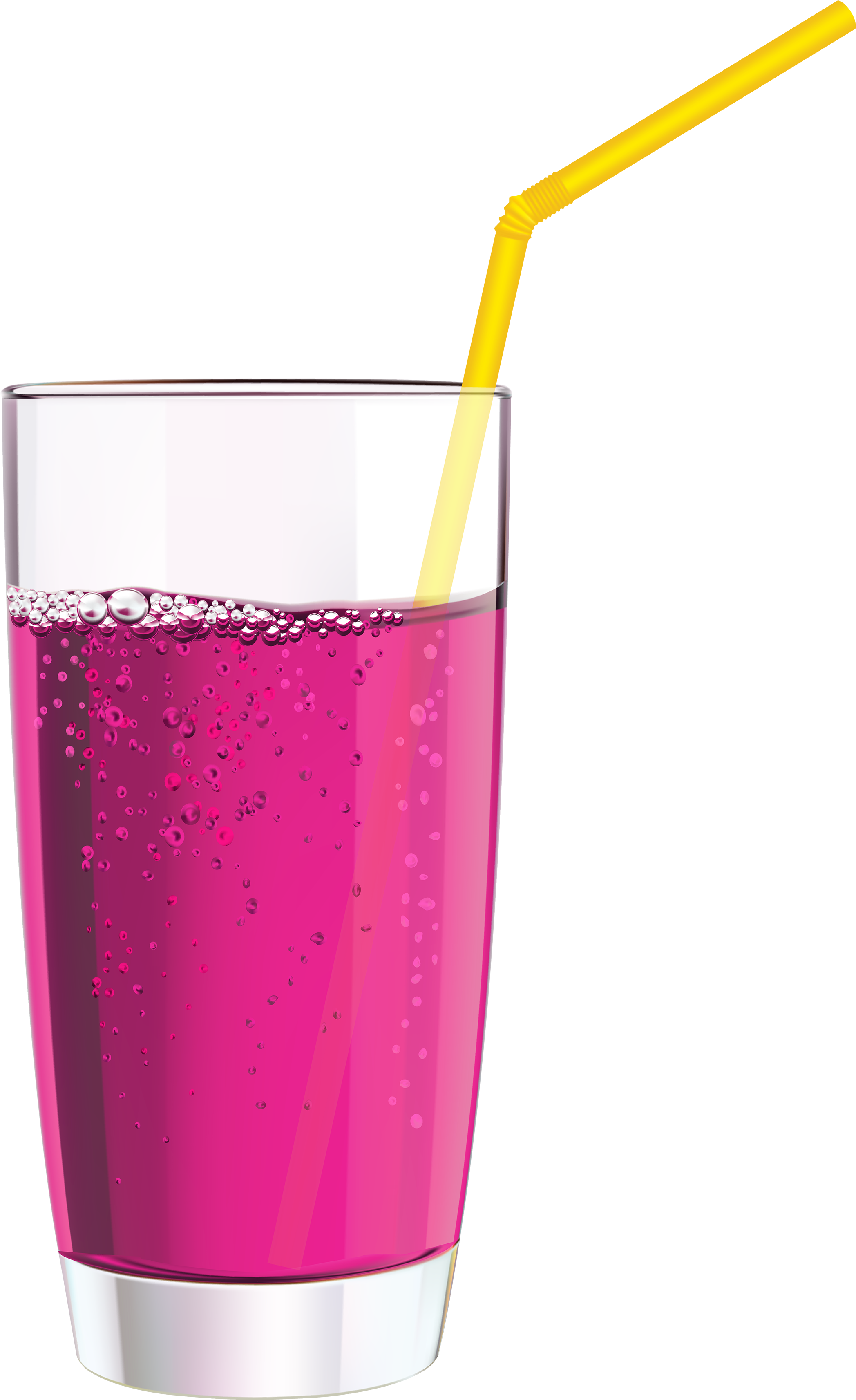 Straw clipart. Download pink drink png