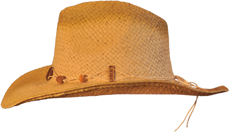 Straw cowboy hat png. Download hd side transparent