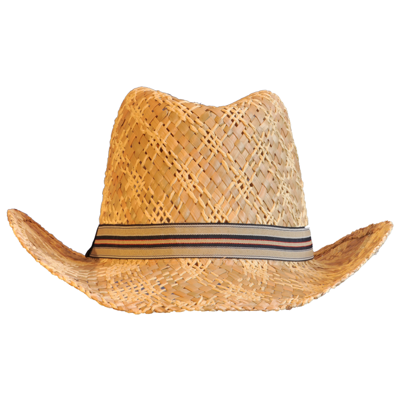Straw cowboy hat png. Photo