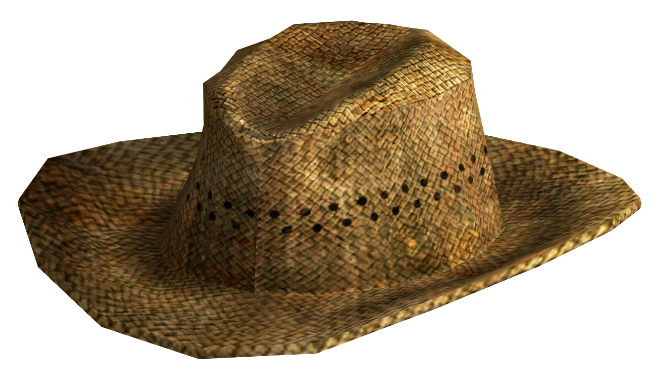 Straw cowboy hat png. Image cattleman fallout wiki