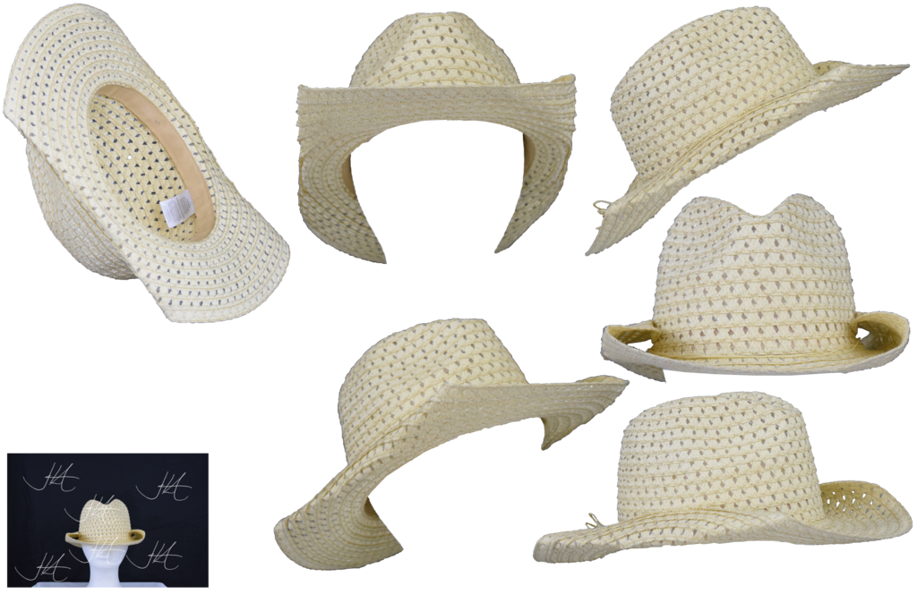 Straw cowboy hat png. Stock by mom espeace