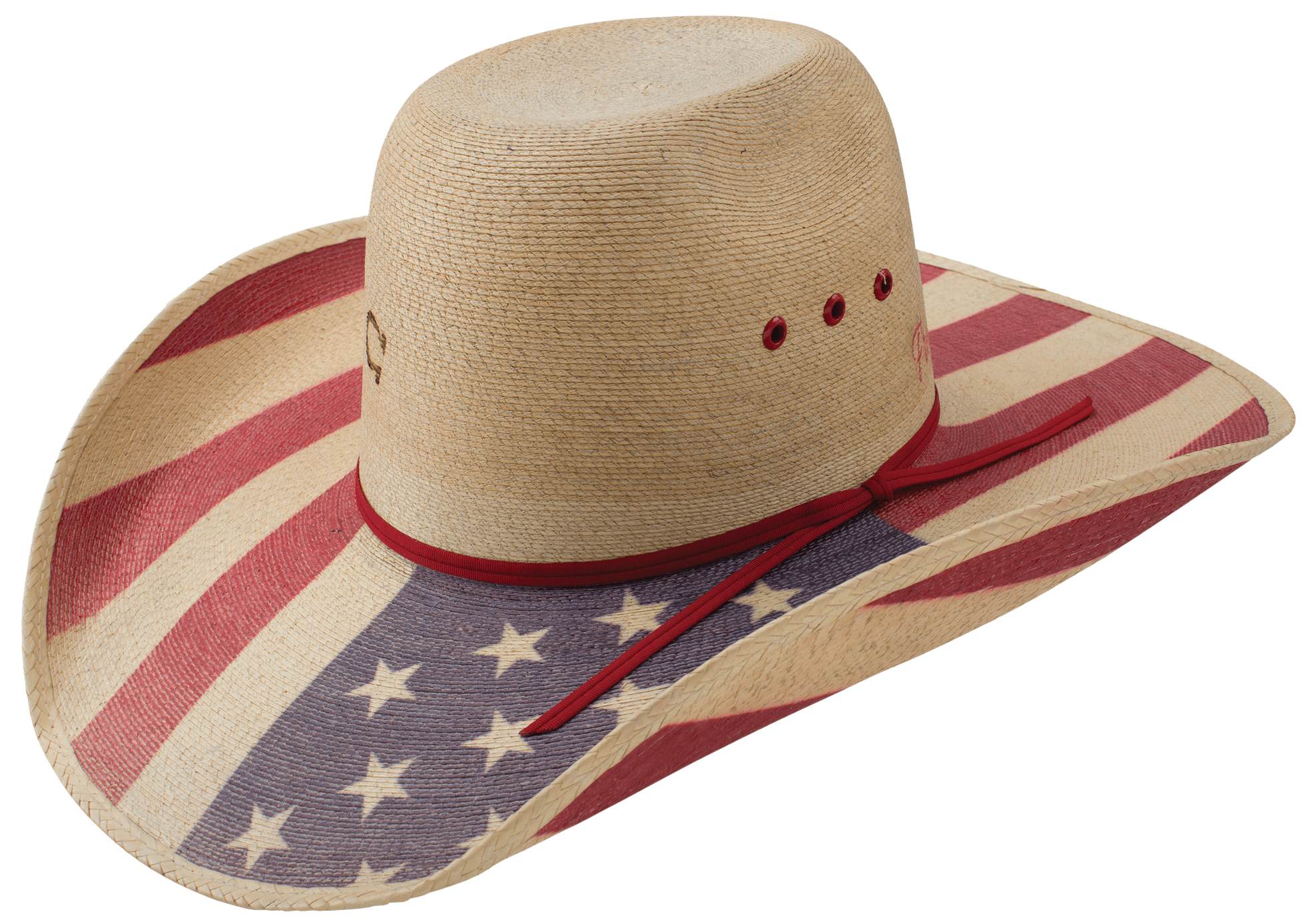 Straw cowboy hat png.