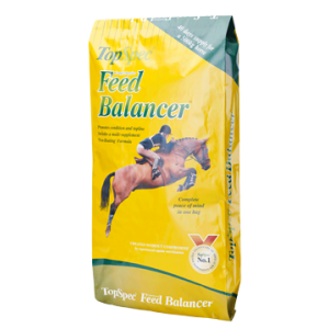 Straw transparent horse food. Supplements feed balancers and