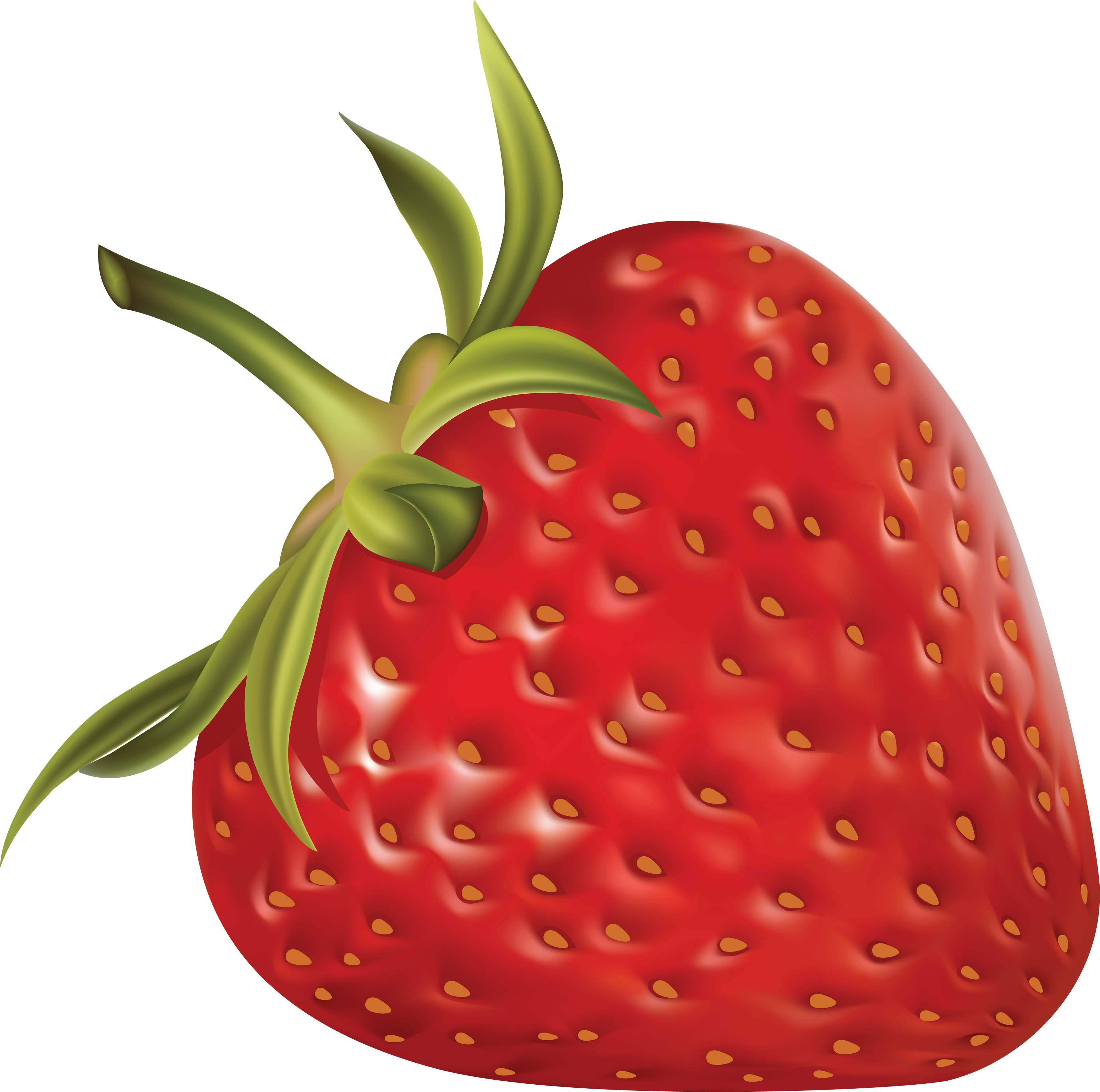 Big strawberry. Clipart clear background frames