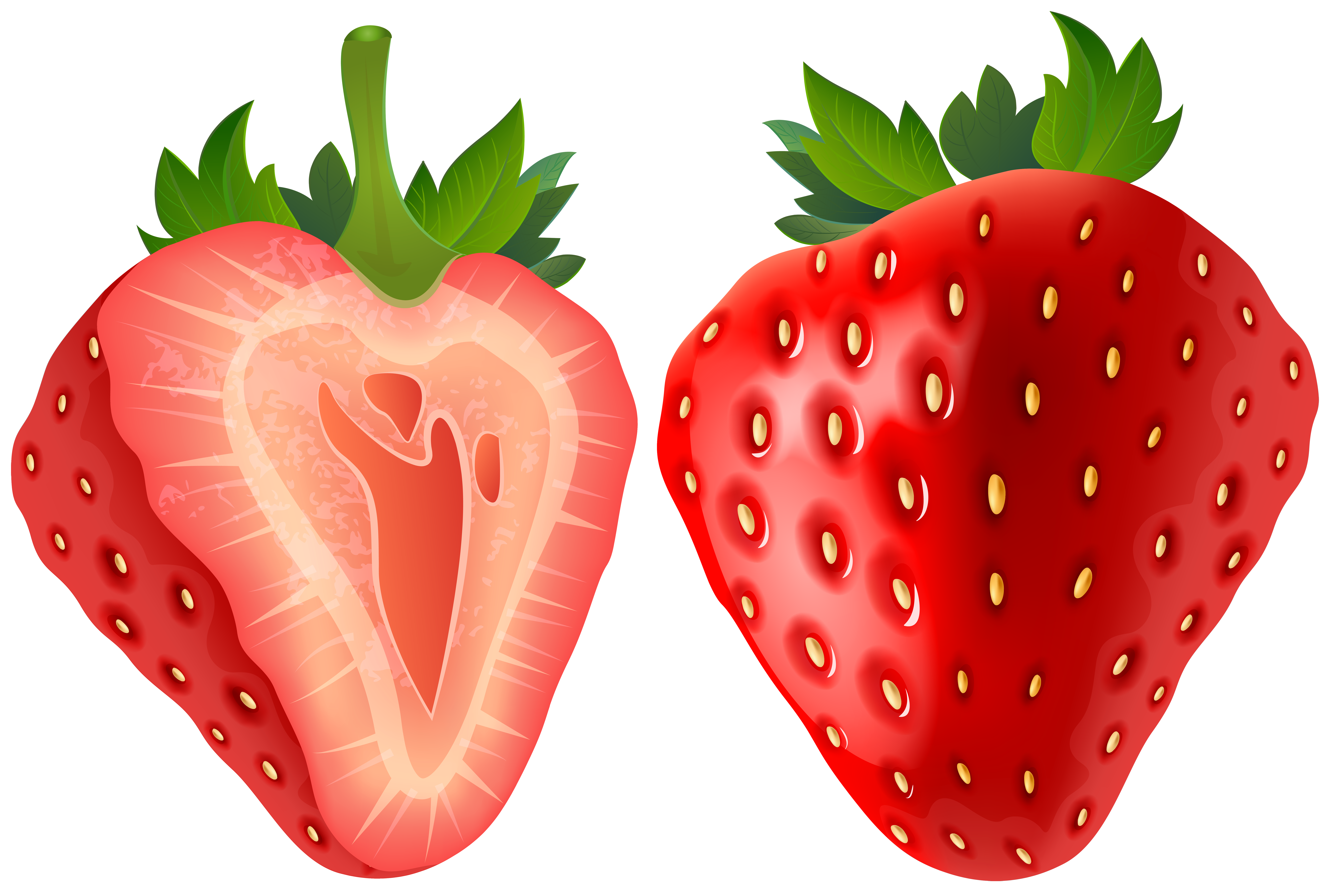 Strawberries clipart png. Strawberry transparent clip art