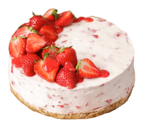 No bake strawberry png. Cheesecake transparent graphic freeuse library