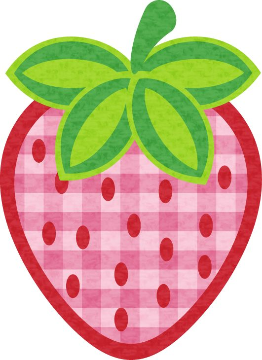 strawberry clipart pink strawberry