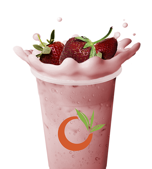 Boba tea png. Ochaya strawberry milk ochayastrawberrymilkteapng
