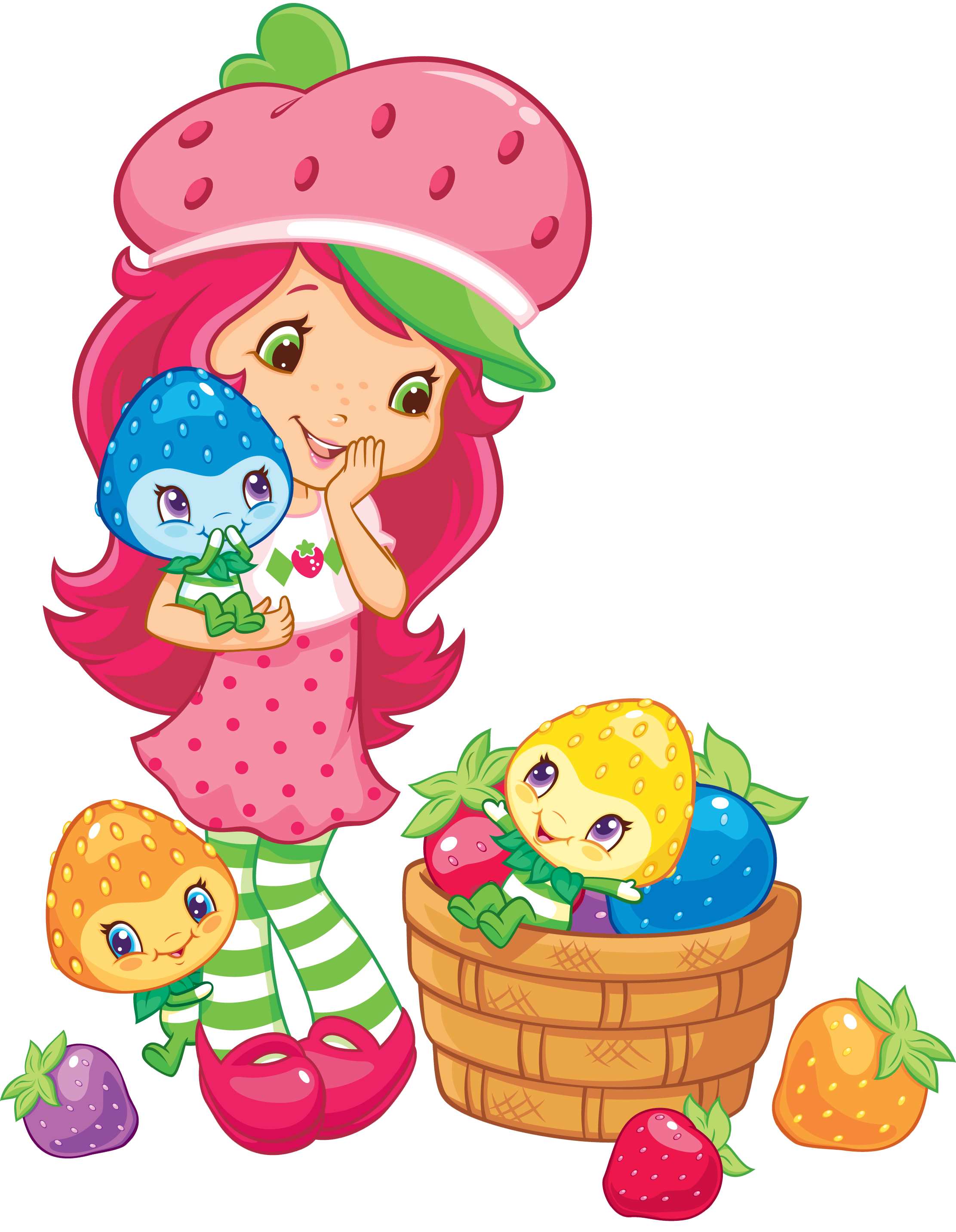 Strawberry shortcake png. Image sscwithberrykinsnoshadow wiki file