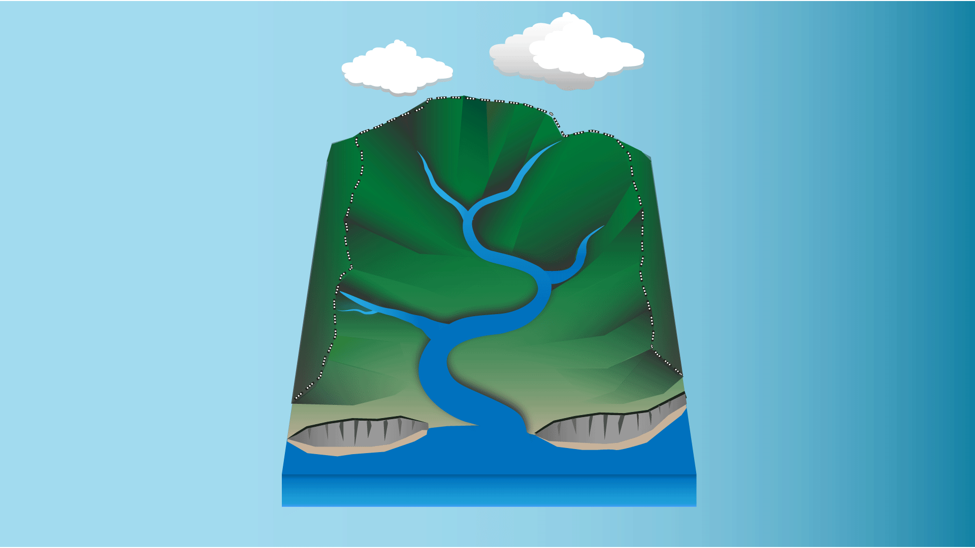 Stream clipart river mouth. Jc wise rivers hk