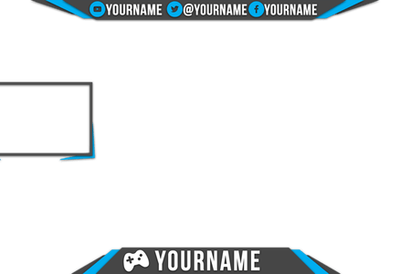 Stream overlay template png. Free timesheet sxcel obs