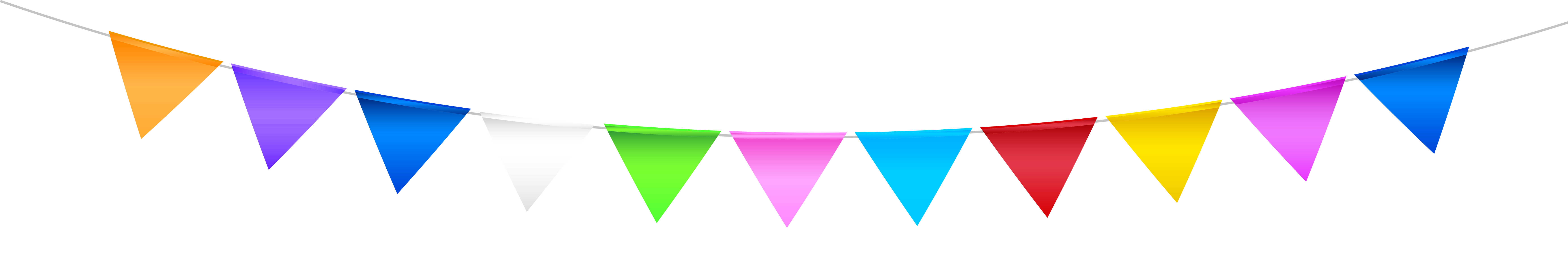 Streamers clipart green. Transparent colorful streamer png
