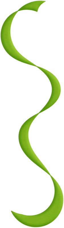 Streamers clipart green. Aw circus streamer red