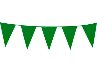 Streamers clipart green. Colour bunting amt party