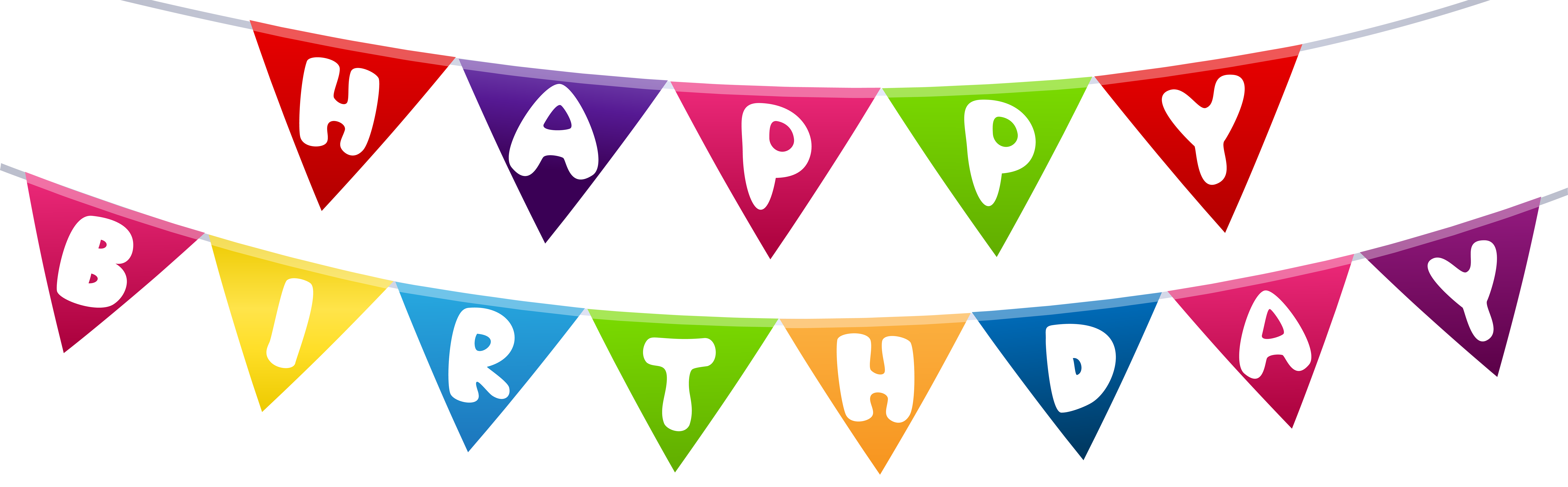 Streamers vector birthday. Picture transparent library