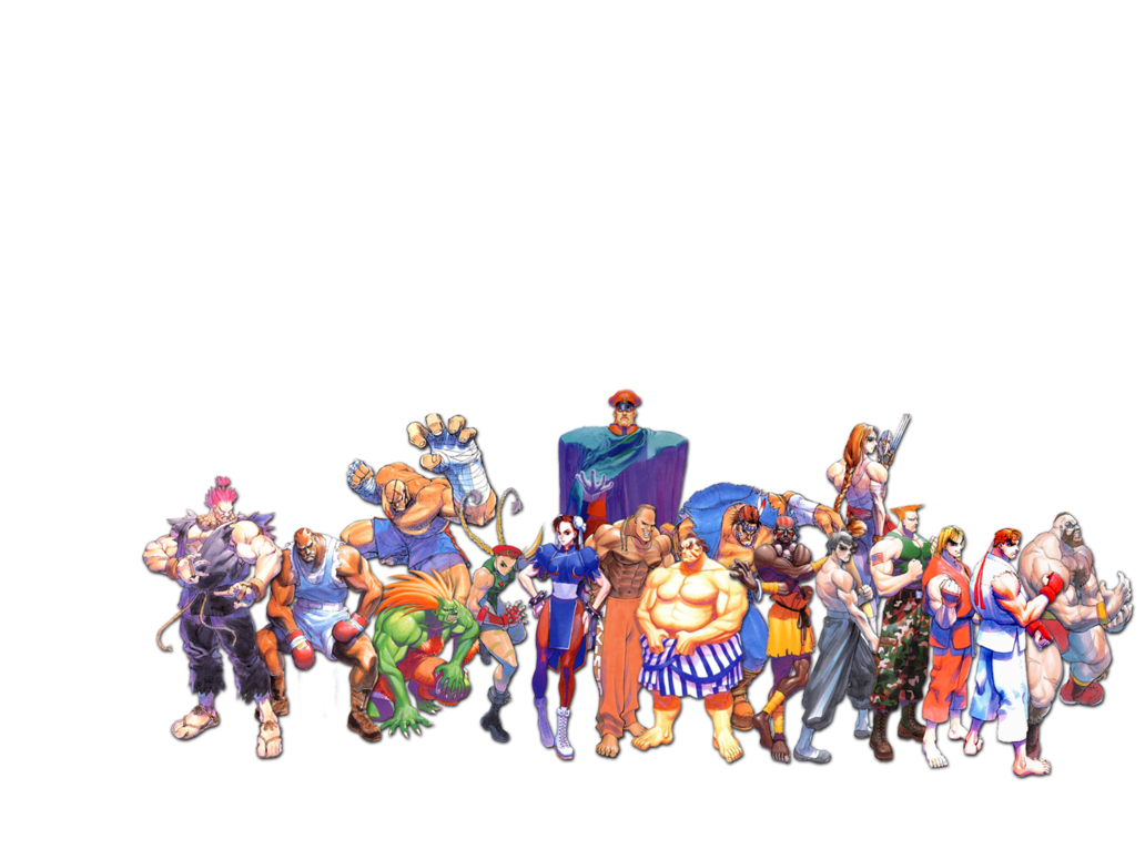 Street fighter 2 png. Collage by seamonkey on