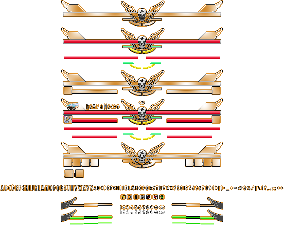 Street fighter 5 health bar png. Mfg screenpack visuals page