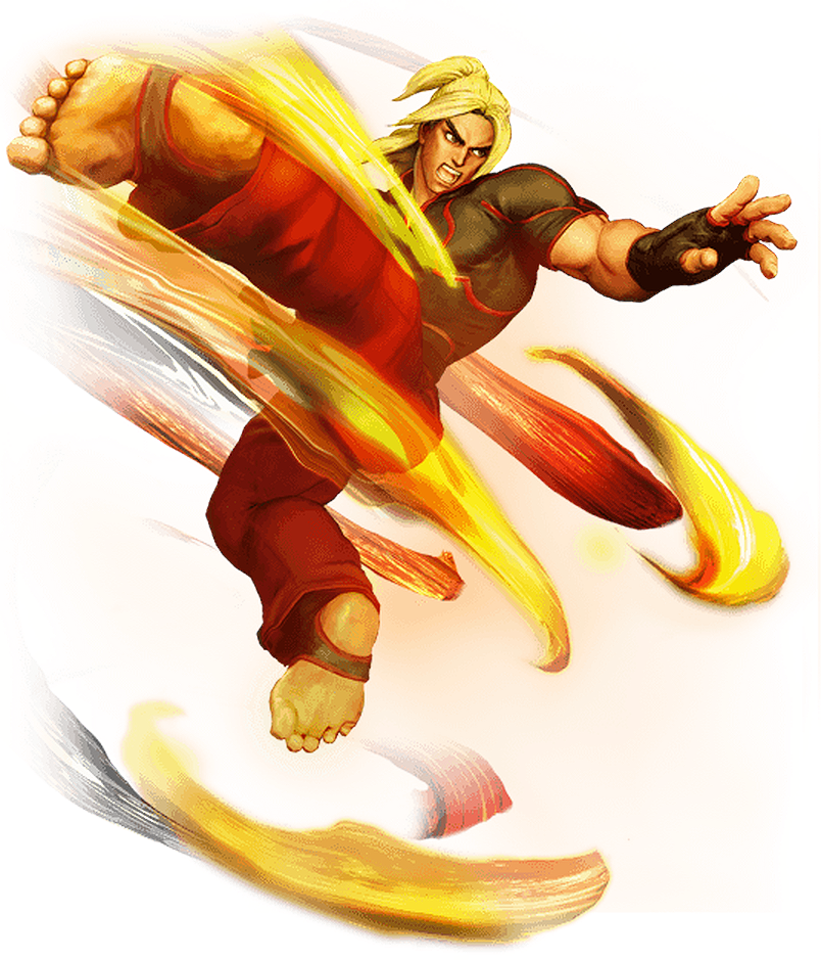 Street fighter 5 ryu png. Ken masters character giant
