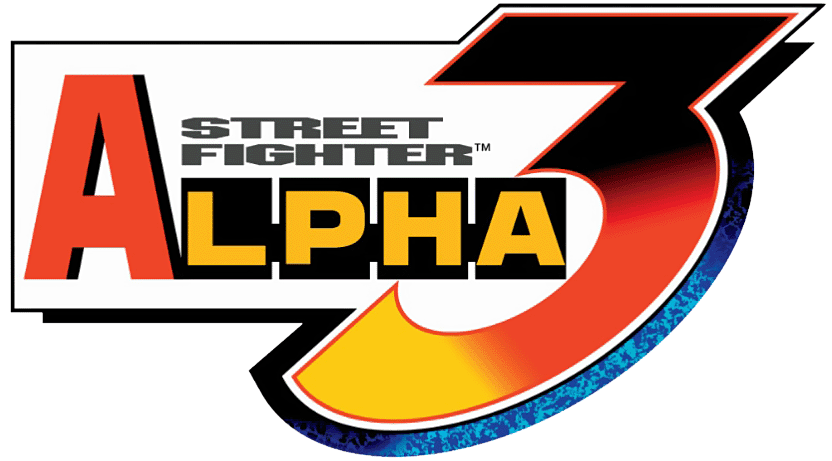 Street fighter alpha 3 logo png