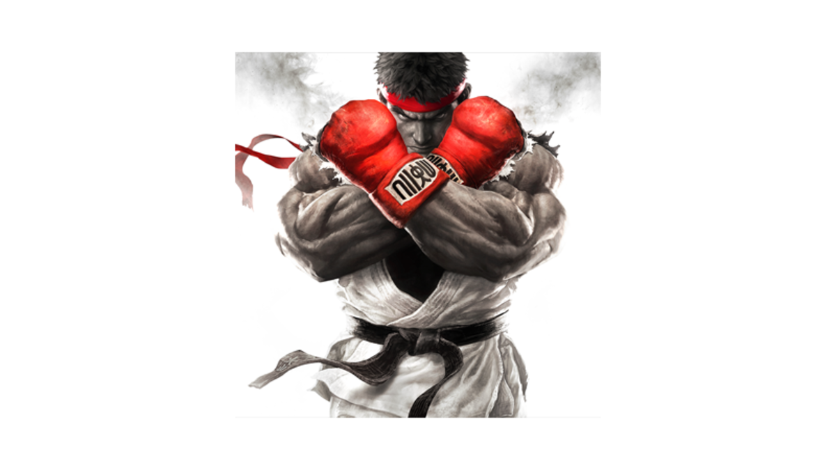 Street fighter v logo png. Early players face data
