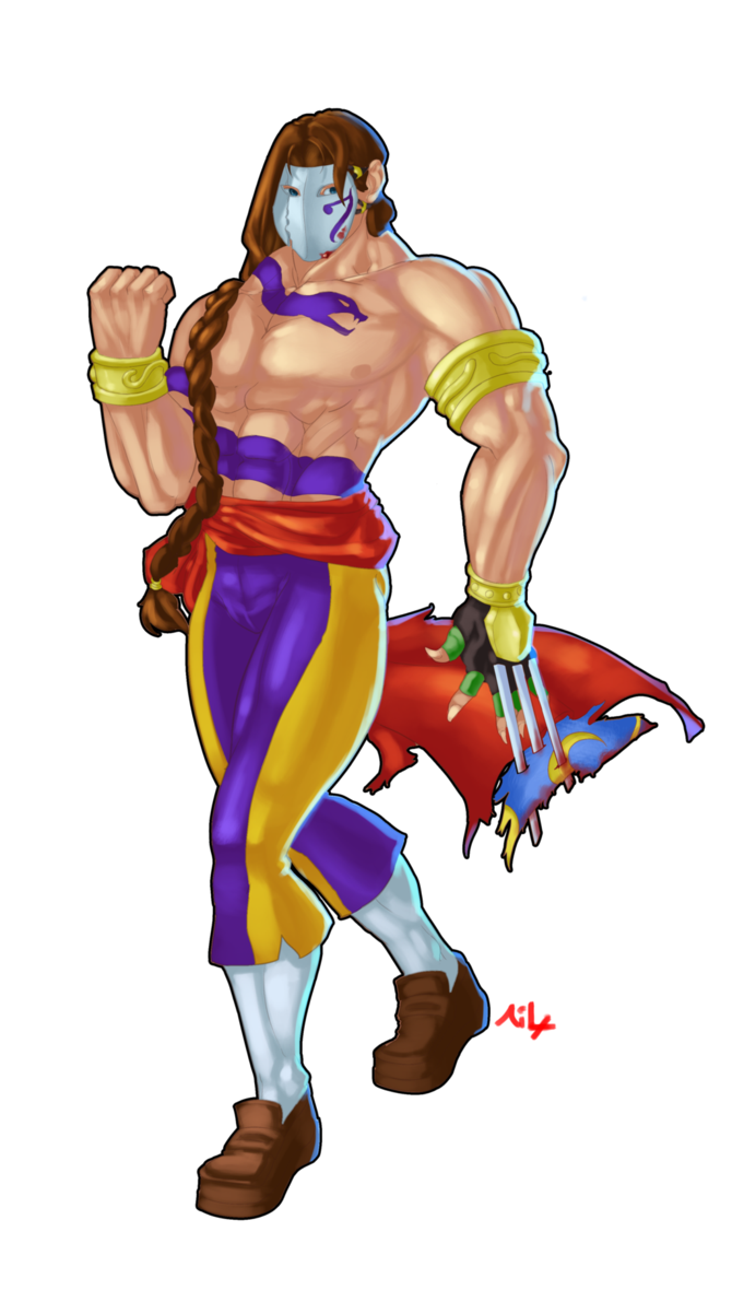 Street fighter vega png. The balrog by ailcross