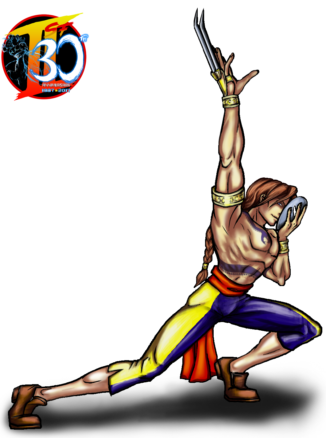 Street fighter vega png. Our th tribute in