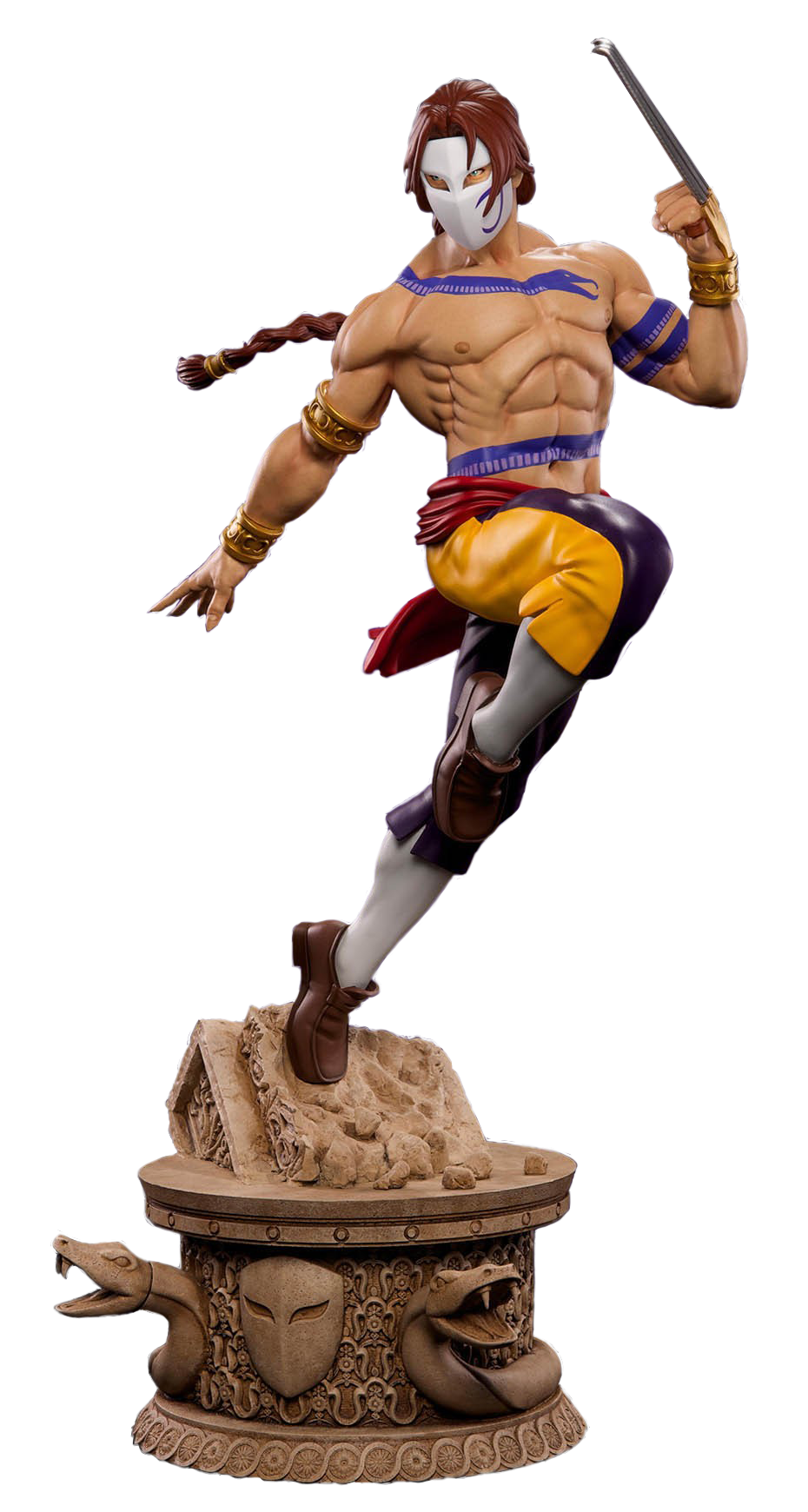 Street fighter vega png. Scale statue pop culture