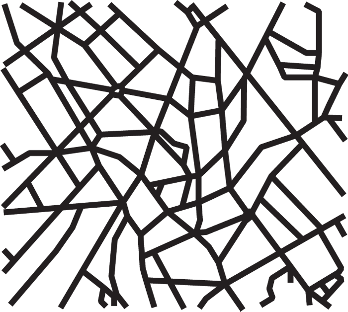 Street map png. Notes from the zeitgeist