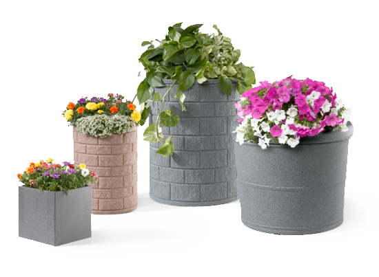 street planter png