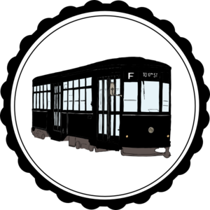 Streetcar vector. Clip art at clker