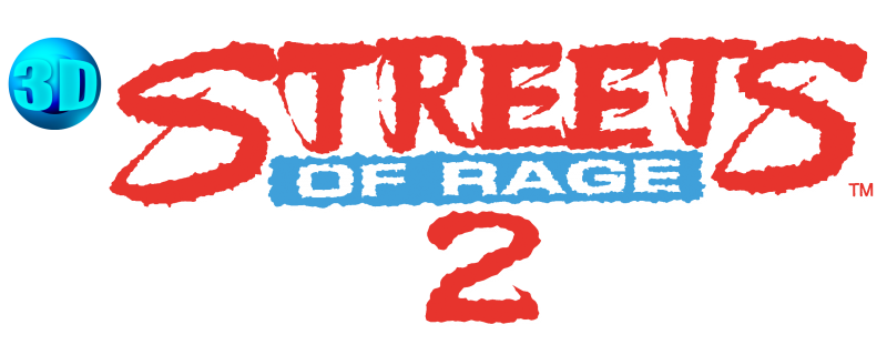 Sonic gunstar heroes and. Streets of rage 2 logo png clipart free stock