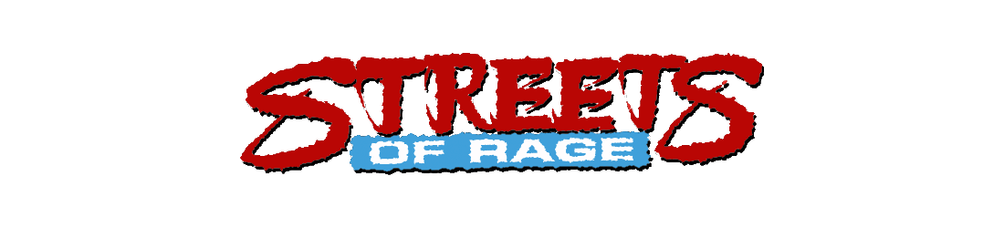 Streets of rage 2 logo png. Games vgfreak sega