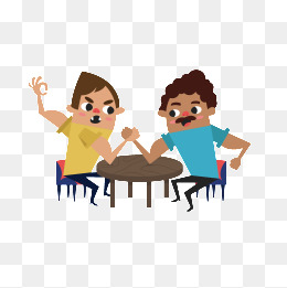 Strength clipart rivalry. Arm wrestling png vectors