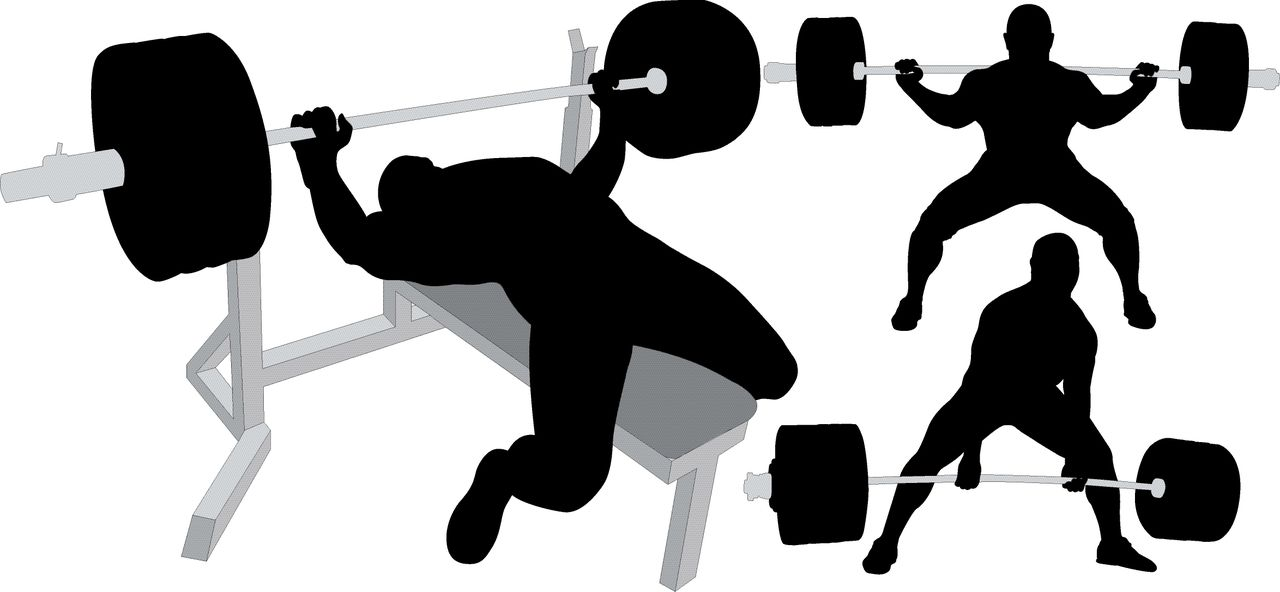 Strength clipart weight lifting. The big three powerlifting