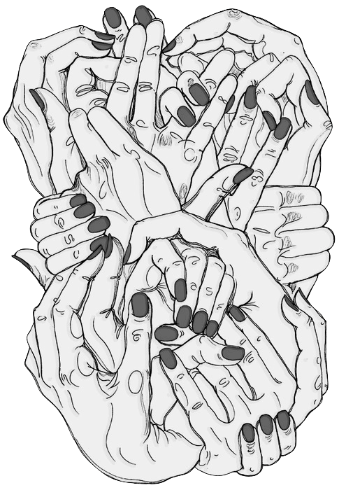 Strength drawing hand. Hold hands find pinterest