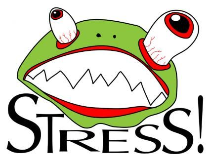 Stress clipart. Funny stressful clip art vector library stock