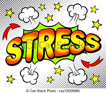 Vector illustration of an. Stress clipart graphic transparent