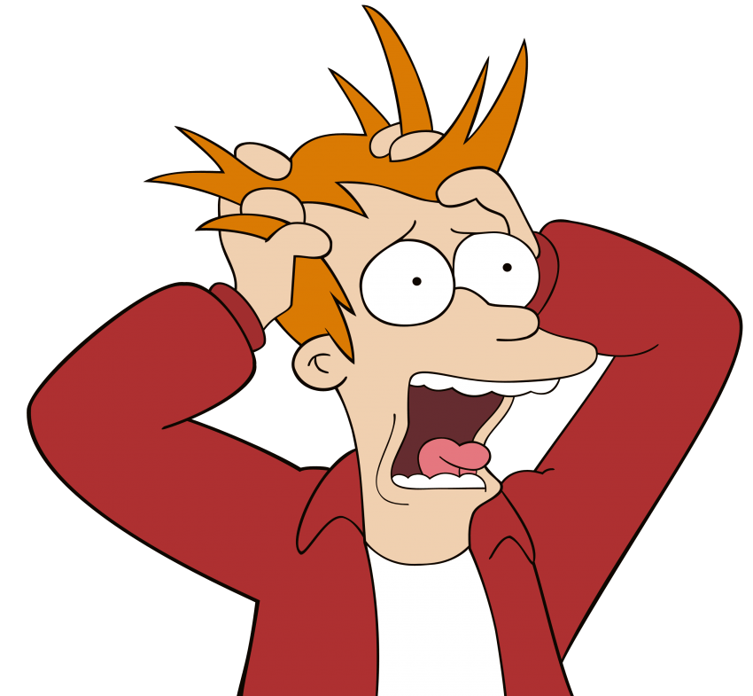 Futurama fry free png. Stress clipart transparent png library download