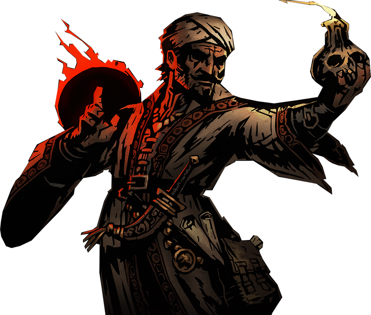 Occult drawing esoteric. Occultist official darkest dungeon